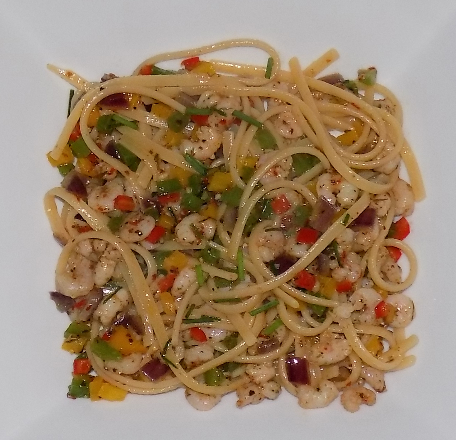 Prawn & Chili Linguine