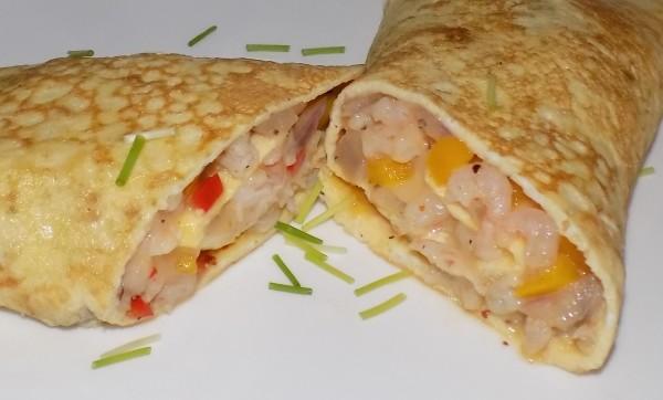 Prawn & Chili Omelette
