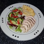 Quiche & Chicken Salad