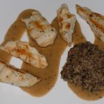 Haggis, Chicken & Peppercorn Sauce