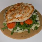 Chicken & Peppercorn Sauce