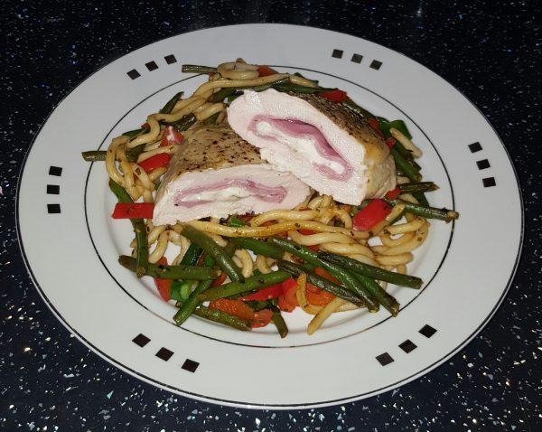 Ham & Philadelphia Chicken